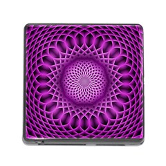 Swirling Dreams, Hot Pink Memory Card Reader (Square) by MoreColorsinLife