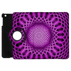 Swirling Dreams, Hot Pink Apple Ipad Mini Flip 360 Case by MoreColorsinLife