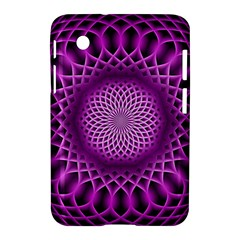 Swirling Dreams, Hot Pink Samsung Galaxy Tab 2 (7 ) P3100 Hardshell Case  by MoreColorsinLife
