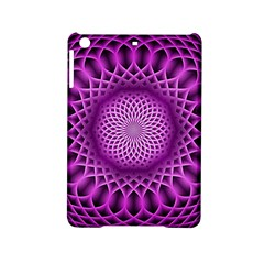 Swirling Dreams, Hot Pink Ipad Mini 2 Hardshell Cases by MoreColorsinLife
