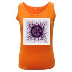 Swirling Dreams, Purple Women s Dark Tank Tops by MoreColorsinLife