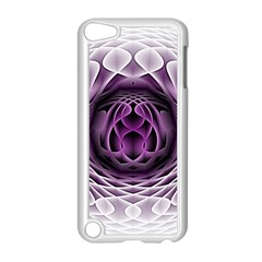 Swirling Dreams, Purple Apple Ipod Touch 5 Case (white) by MoreColorsinLife