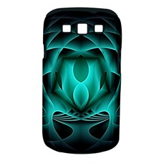 Swirling Dreams, Teal Samsung Galaxy S III Classic Hardshell Case (PC+Silicone) by MoreColorsinLife