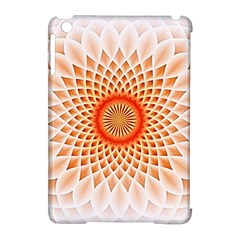 Swirling Dreams,peach Apple Ipad Mini Hardshell Case (compatible With Smart Cover) by MoreColorsinLife