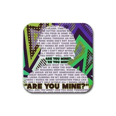 Are You Mine Drink Coasters 4 Pack (square)