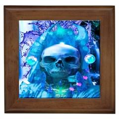 Skull Worship Framed Tiles