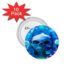 Skull Worship 1.75  Buttons (10 pack)