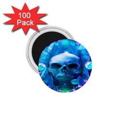 Skull Worship 1.75  Magnets (100 pack)