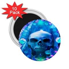 Skull Worship 2.25  Magnets (10 pack)