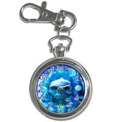 Skull Worship Key Chain Watches