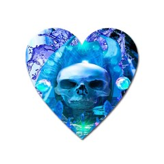 Skull Worship Heart Magnet by icarusismartdesigns