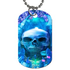 Skull Worship Dog Tag (two Sides) by icarusismartdesigns