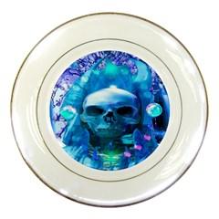 Skull Worship Porcelain Plates