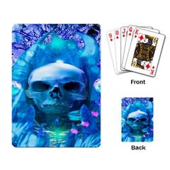 Skull Worship Playing Card by icarusismartdesigns
