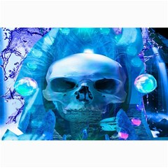 Skull Worship Canvas 20  X 30   by icarusismartdesigns
