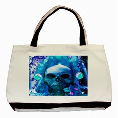 Skull Worship Basic Tote Bag (two Sides)  by icarusismartdesigns