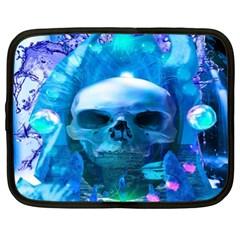 Skull Worship Netbook Case (xxl)  by icarusismartdesigns
