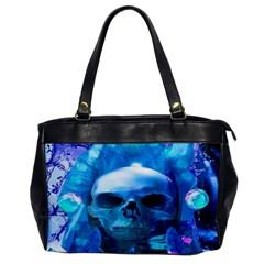 Skull Worship Office Handbags