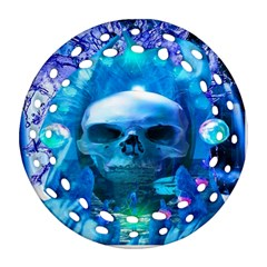 Skull Worship Ornament (Round Filigree)
