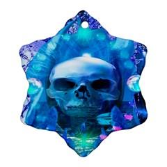 Skull Worship Snowflake Ornament (2-Side)
