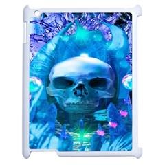 Skull Worship Apple iPad 2 Case (White)