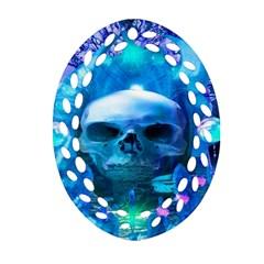 Skull Worship Ornament (Oval Filigree)