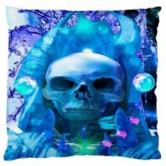 Skull Worship Large Cushion Cases (One Side)