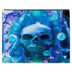 Skull Worship Cosmetic Bag (xxxl)  by icarusismartdesigns