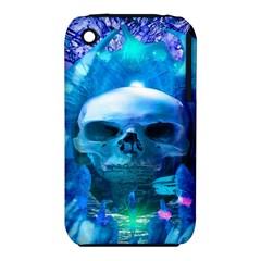 Skull Worship Apple iPhone 3G/3GS Hardshell Case (PC+Silicone)
