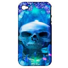 Skull Worship Apple iPhone 4/4S Hardshell Case (PC+Silicone)