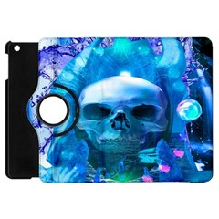 Skull Worship Apple Ipad Mini Flip 360 Case by icarusismartdesigns