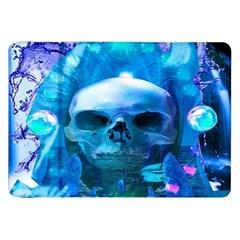 Skull Worship Samsung Galaxy Tab 8.9  P7300 Flip Case