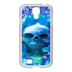 Skull Worship Samsung GALAXY S4 I9500/ I9505 Case (White)