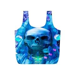 Skull Worship Full Print Recycle Bags (S)