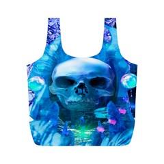 Skull Worship Full Print Recycle Bags (M)