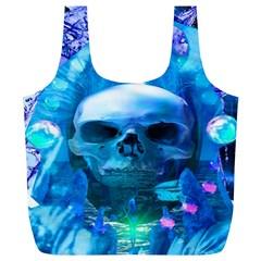 Skull Worship Full Print Recycle Bags (L)