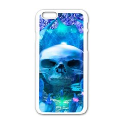 Skull Worship Apple Iphone 6/6s White Enamel Case by icarusismartdesigns