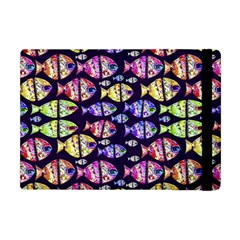 Colorful Fishes Pattern Design Apple Ipad Mini Flip Case by dflcprints