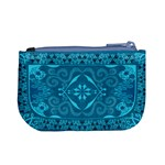 Magic Flying Carpet: Blue Version Coin Change Purse Back