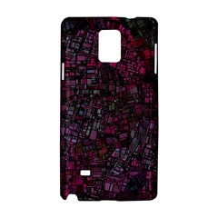 Fantasy City Maps 1 Samsung Galaxy Note 4 Hardshell Case by MoreColorsinLife