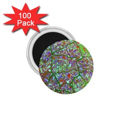 Fantasy City Maps 2 1 75  Magnets (100 Pack)  by MoreColorsinLife