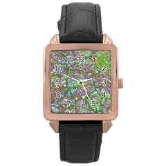 Fantasy City Maps 2 Rose Gold Watches by MoreColorsinLife