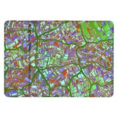 Fantasy City Maps 2 Samsung Galaxy Tab 8 9  P7300 Flip Case by MoreColorsinLife