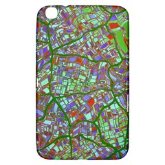 Fantasy City Maps 2 Samsung Galaxy Tab 3 (8 ) T3100 Hardshell Case  by MoreColorsinLife
