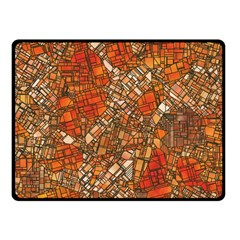 Fantasy City Maps 3 Fleece Blanket (small) by MoreColorsinLife