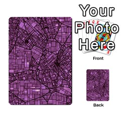 Fantasy City Maps 4 Multi Purpose Cards (rectangle)
