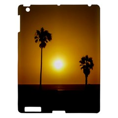 Sunset Scene At The Coast Of Montevideo Uruguay Apple Ipad 3/4 Hardshell Case by dflcprints