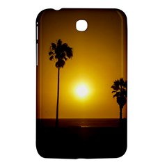 Sunset Scene At The Coast Of Montevideo Uruguay Samsung Galaxy Tab 3 (7 ) P3200 Hardshell Case  by dflcprints