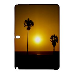 Sunset Scene At The Coast Of Montevideo Uruguay Samsung Galaxy Tab Pro 10 1 Hardshell Case by dflcprints