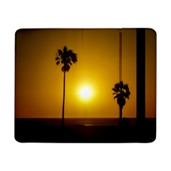 Sunset Scene At The Coast Of Montevideo Uruguay Samsung Galaxy Tab Pro 8 4  Flip Case by dflcprints